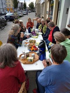 Aktionstage Ökolandbau: SoLawi & Gärtnerhof stellten sich beim Verein SozialÖkologie vor