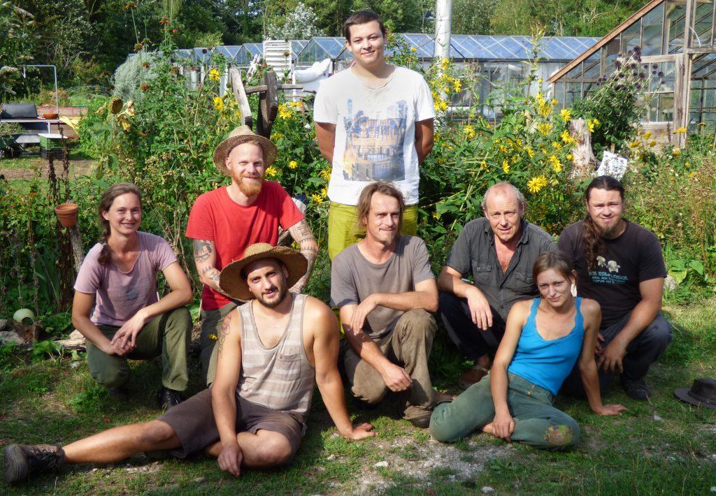 Das GärtnerInnenteam