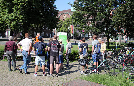 AWWB-Radtour kommt zum Gärtnerhof